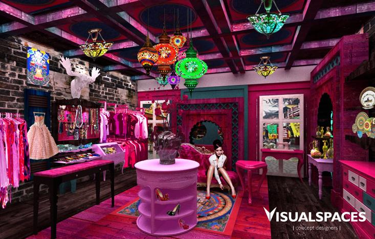 Fashion Retail Shop in Shanghai China 2