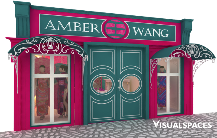 Fashion Retail Shop in Shanghai China - Shop Front Design