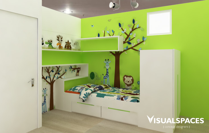 HDB Executive Condominium in Choa Chu Kang - Kids Room 2
