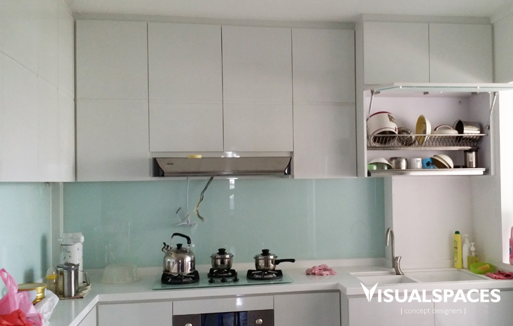 HDB Executive Condominium in Choa Chu Kang - Kitchen Completed Photo