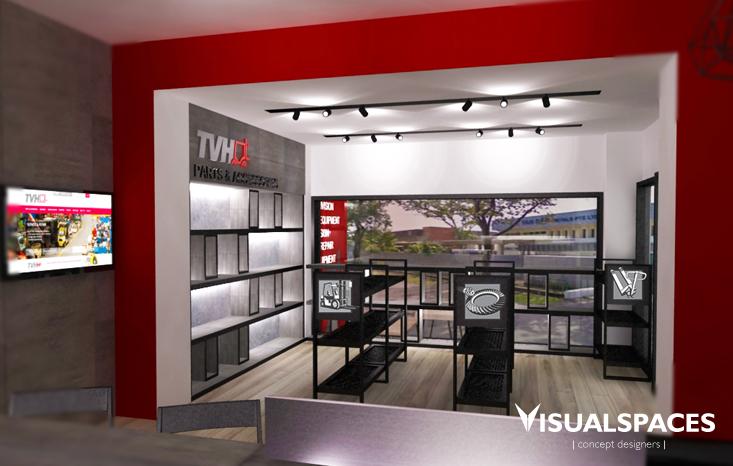 TVH Singapore Office - Reception Design