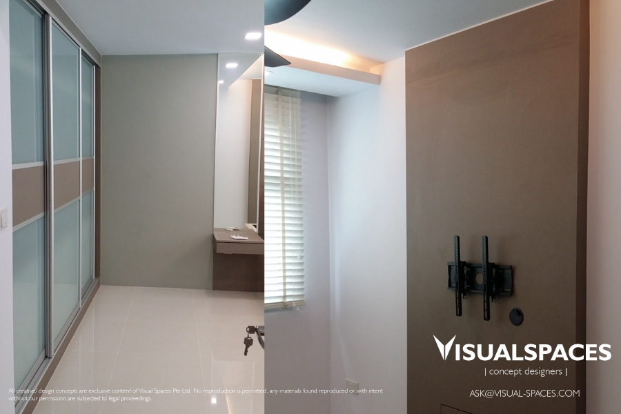 Master Bedroom after Design and Renovation 2 - Punggol Walk by Visual Spaces