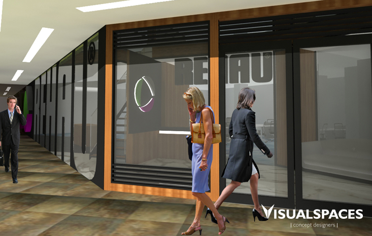 Rehau Office Singapore - Exterior and Interior Design View 1