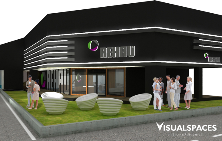 Rehau Office Singapore - Exterior and Interior Design View 5