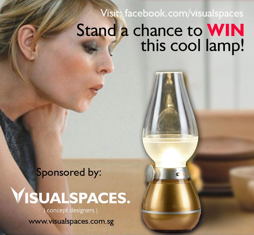 Visual Spaces Kerosene Lamp Giveaway
