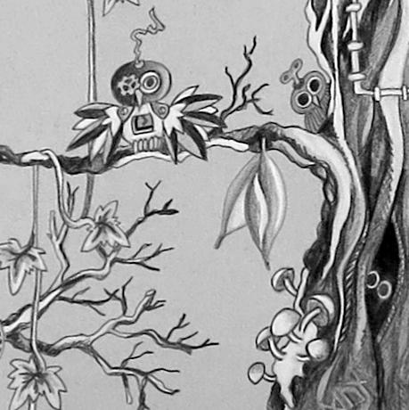 mechanical owls, fungi