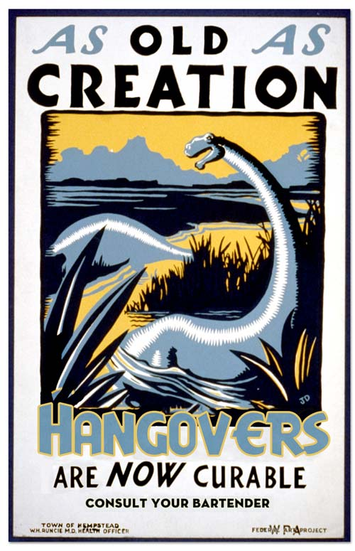 WPA posters – art in the depression