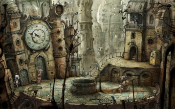 machinarium the town sqare