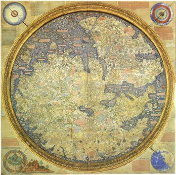 "The Fra Mauro Map (c. 1450) has the ""Island of Dragons"" (Italian: Isola de' dragoni), an imaginary island in the Atlantic Ocean."
