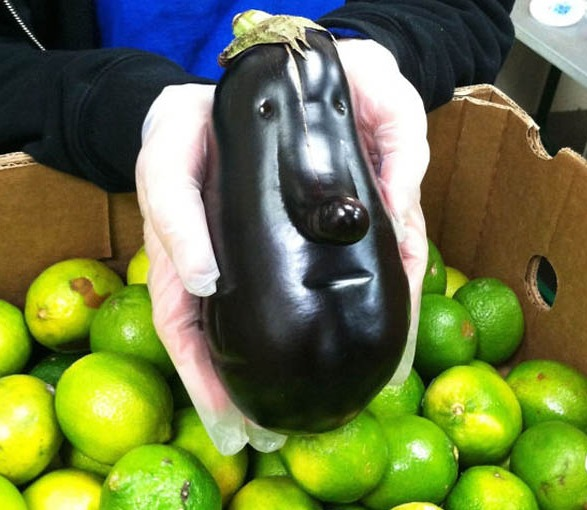 Eggplant – or is it..?