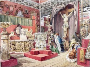 J. Michael, 'Part of the Fine Arts Court'