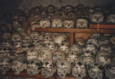 Hallstatt Skulls - Photo by Infrogmation of New Orleans