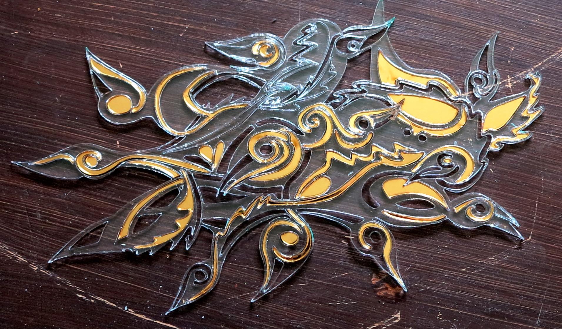 Twelve golden wild ducks –fairytale in smoke and mirrors
