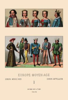 Civil costumes of the French nobility, 1364-1461.