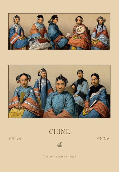 Women's clothing of China.