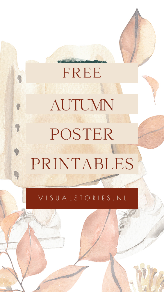 FREE AUTUMN PRINTABLE POSTERS