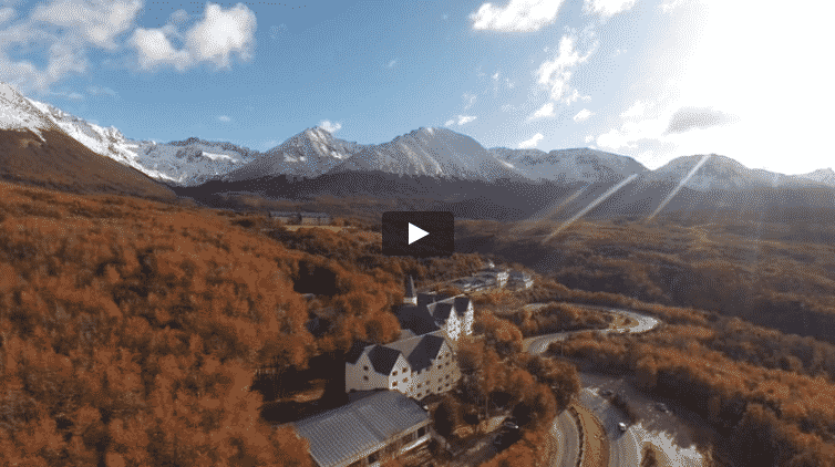 Aerial View at Ushuaia for Brand Video