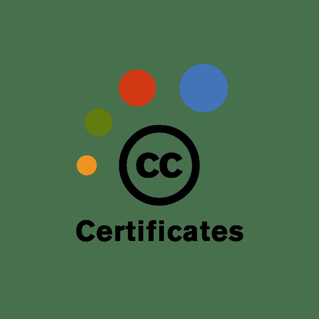 Creative Commons Certificates