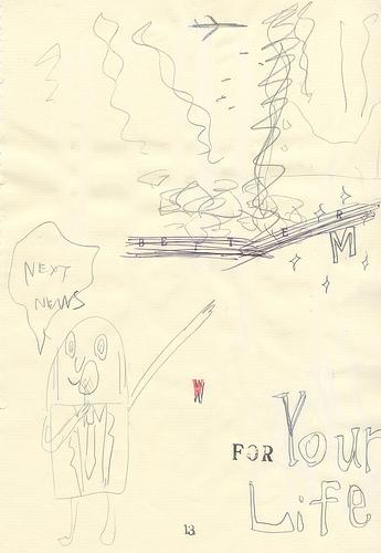 櫻田潤 アートワーク THE UNION ( p13 )