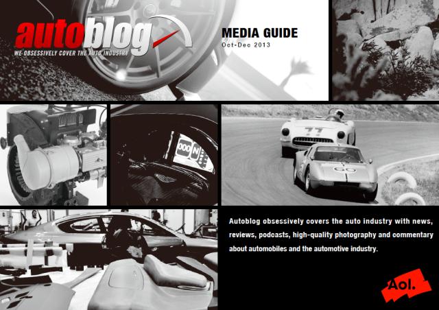 Autoblog 媒体資料 デザイン