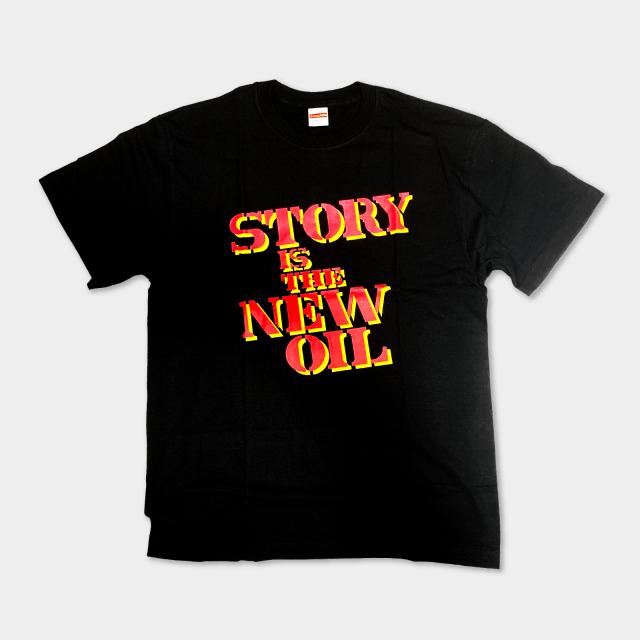 櫻田潤 Tシャツ STORY IS THE NEW OIL