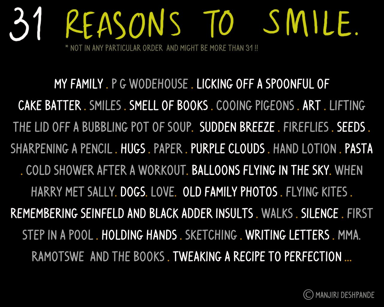 31 Reasons To Smile Visual Trademarks