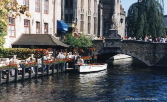 Life on the Canals in Bruges, Belgium   Marsha J Black