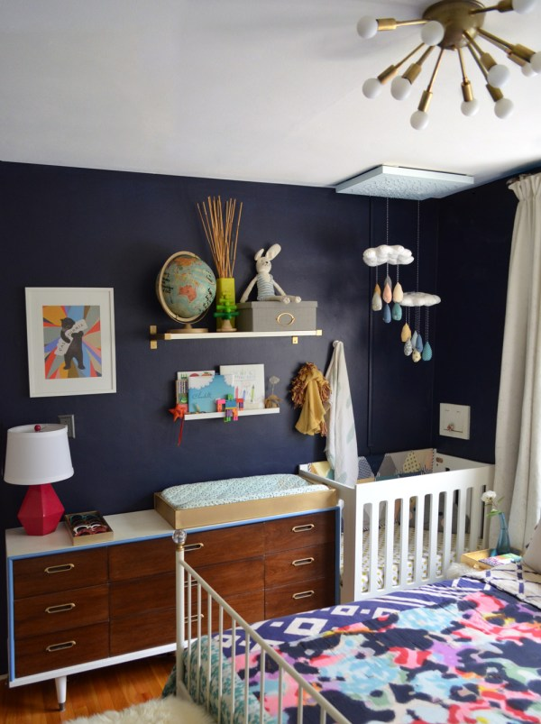 Master Bedroom with Baby Nursery