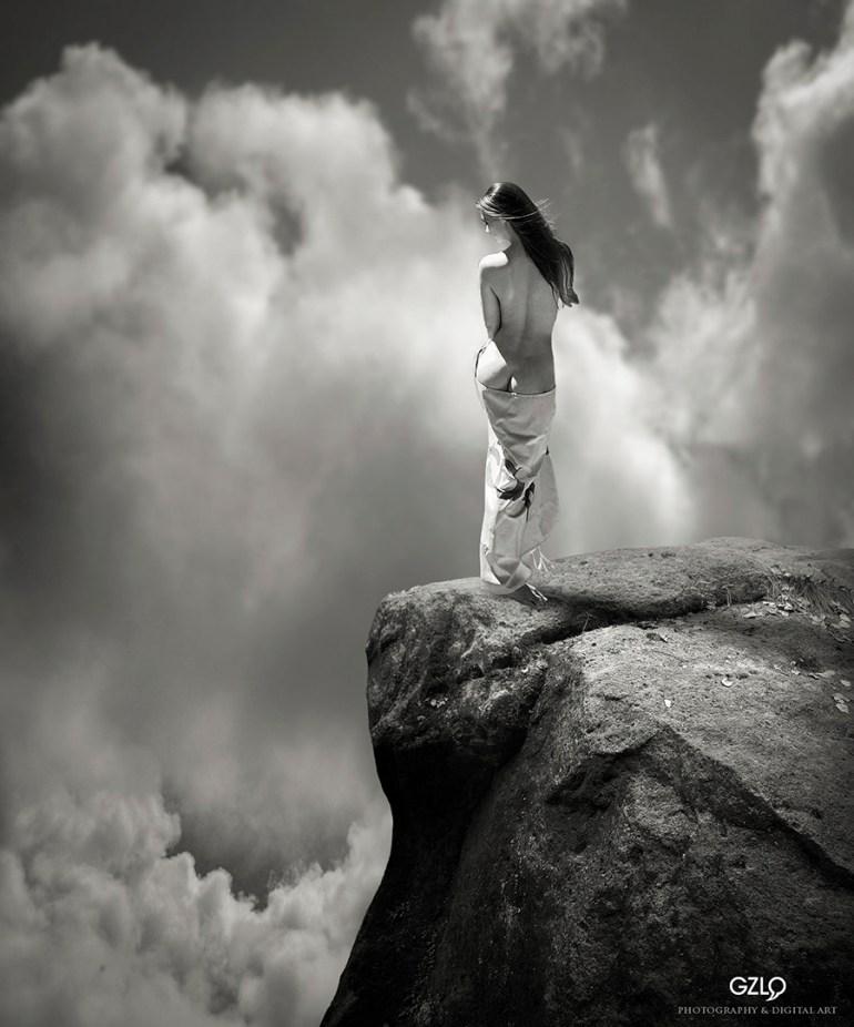 Photocreation: Gonzalo Villar - Model: Ekaterina Vladi – Photo of Model: Vladimir Lapshin
