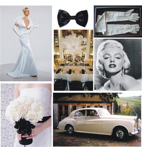 Wedding Theme Old Hollywood Couture  Visuelle Productionss Bridal Show Blog