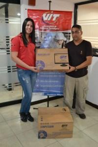 C.E.I Simoncito Doña Lula Parra León es beneficiado con equipo tecnológico de VIT