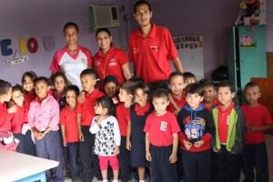Tecnología Educativa visitó a los niños del E.B Mene Grande de Punto Fijo
