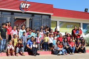 VIT recibió a los niños y niñas del plan vacacional de Zonfipca