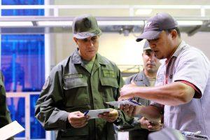 """Comandante de la Base Naval en VIT: """"todo el personal está involucrado en el trabajo en pro de nuestra revolución"""""""