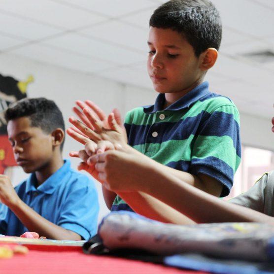 VIT efectuó actividades recreativas y formativas para los hijos de sus trabajadores