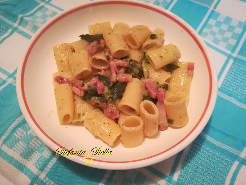 Mix zucchine pancetta e speck, pasta ad hoc!?