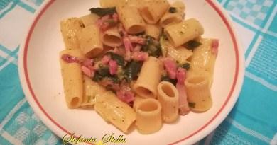 Mix zucchine pancetta e speck