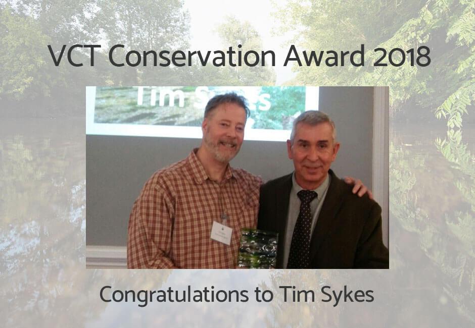 VCT Conservation Award 2018