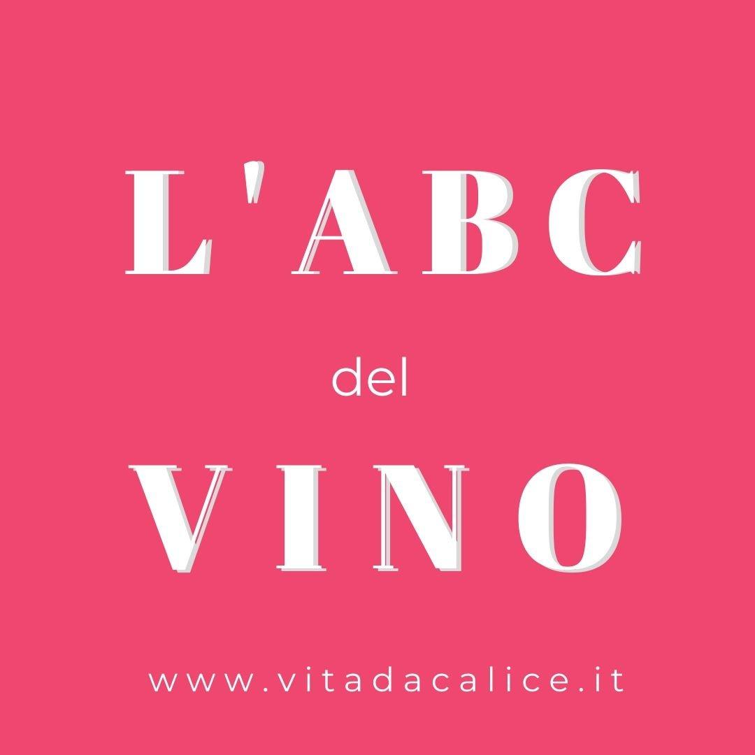 l'ABC del vino