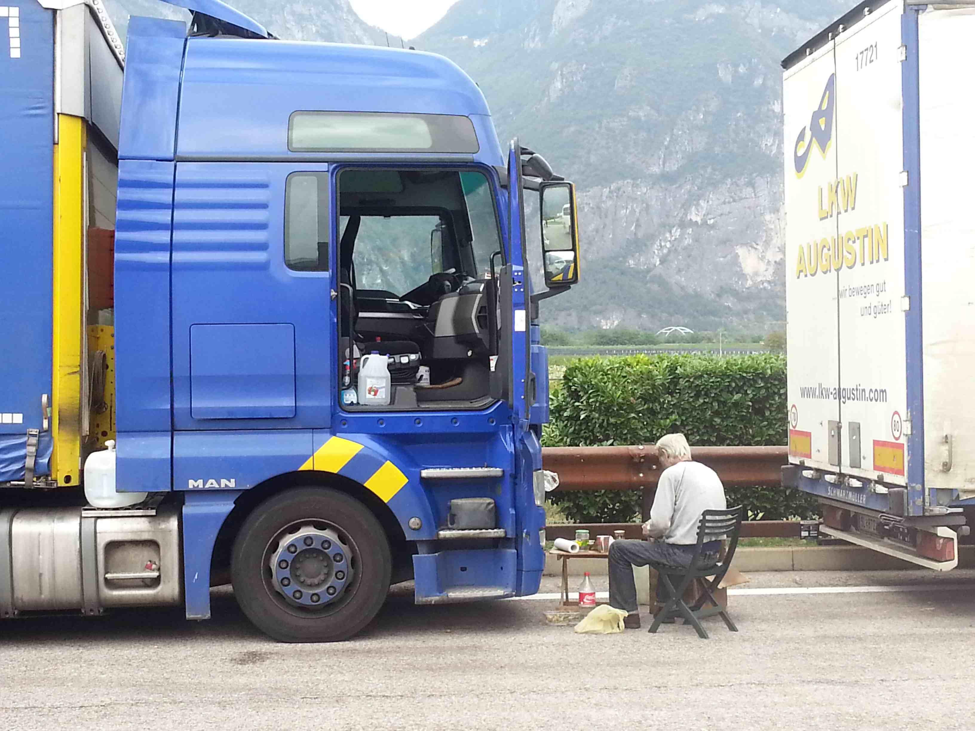 Cosa dovrebbe mangiare un camionista?