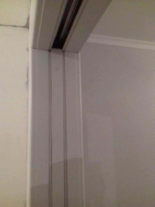 Обрамление раздвижной двери с щетками