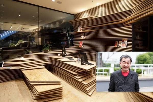 kengo kuma - architect