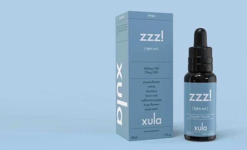 Xula Lights Out Sleep Tincture