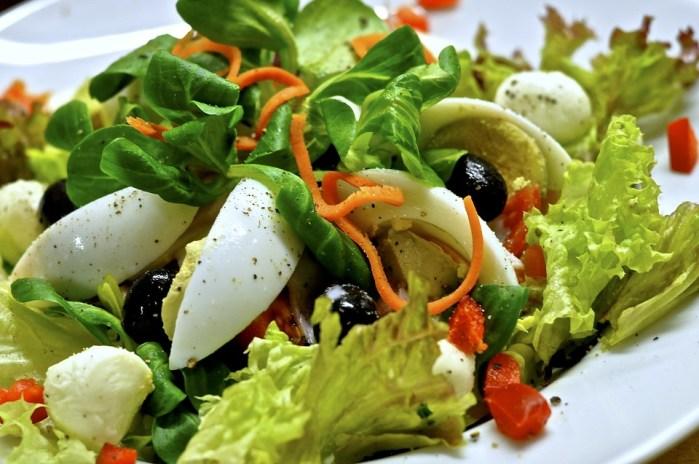 Diät zur Gewichtsreduktion wöchentliches Menü nur 1000 Kcal pro Tag, diät, abnehmen, gesunde ernährung, gewicht verlieren, Eiersalat, Diät zum Abnehmen