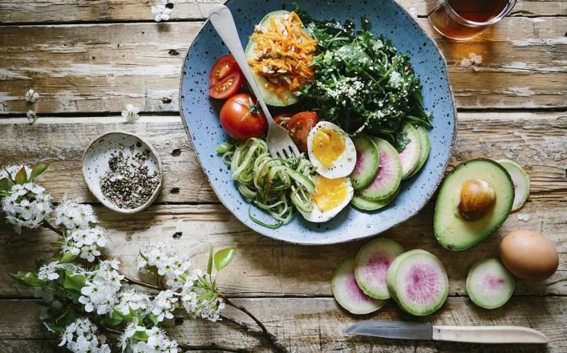 Menüs gesunde Ernährung, um Gewicht zu verlieren