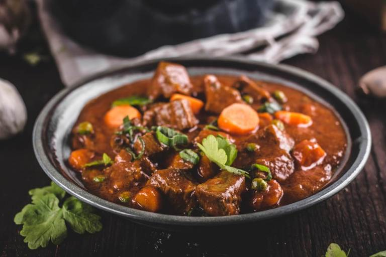 vital and clear beef stew