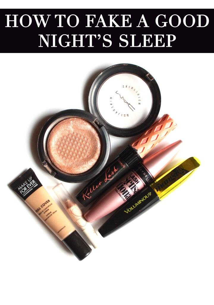 How to Fake Good Night's Sleep   The Lipstick Tales