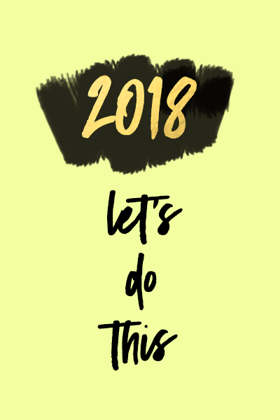 2018 Let's Do This | The Lipstick Tales