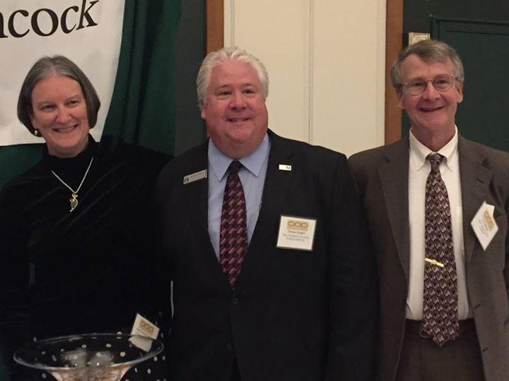Receiving Mascoma Bank Award