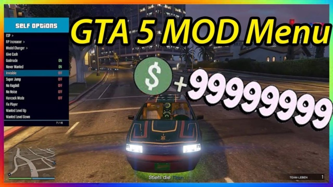Como instalar MOD menu GTA 5 no Xbox 360 RGH | Vital Game Box